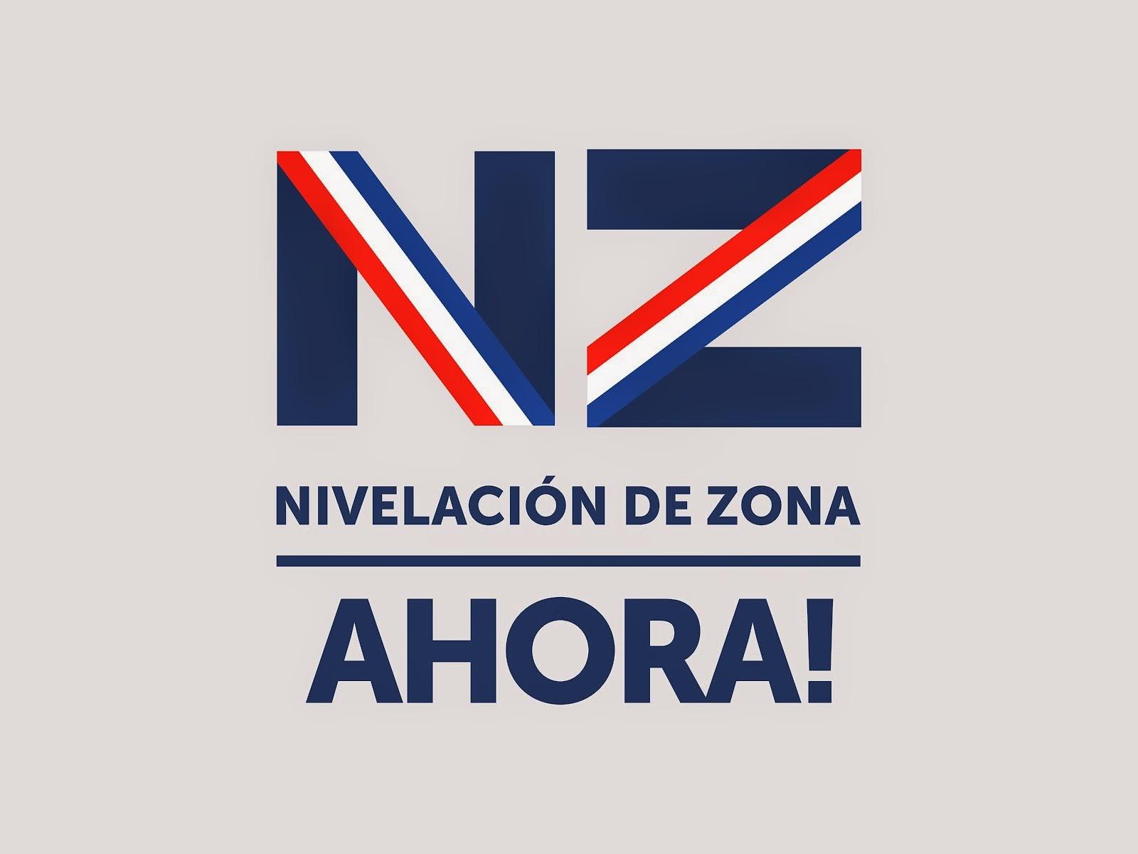 Logo campaña por Nivelación de Zona