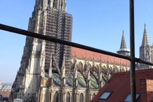Blick auf Ulmer Münster, Münster in Ulm, Kirche Ulm