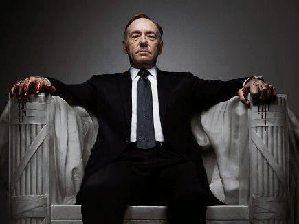 Kevin Spacey na série  House of Cards - 435x326
