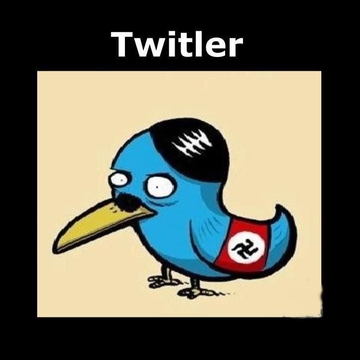 Twitler Hitler und Twitter