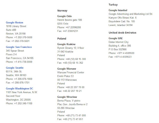 Google Locations Photos