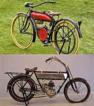 koleksi gambar motor antik nan unik