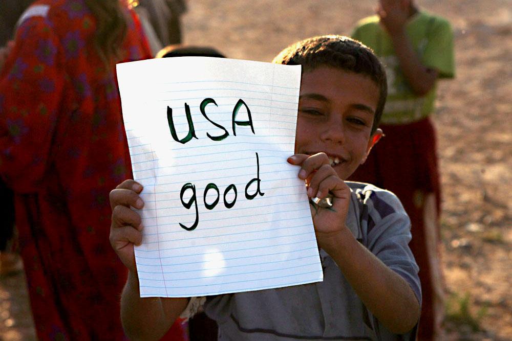 Дети войны в Сирии