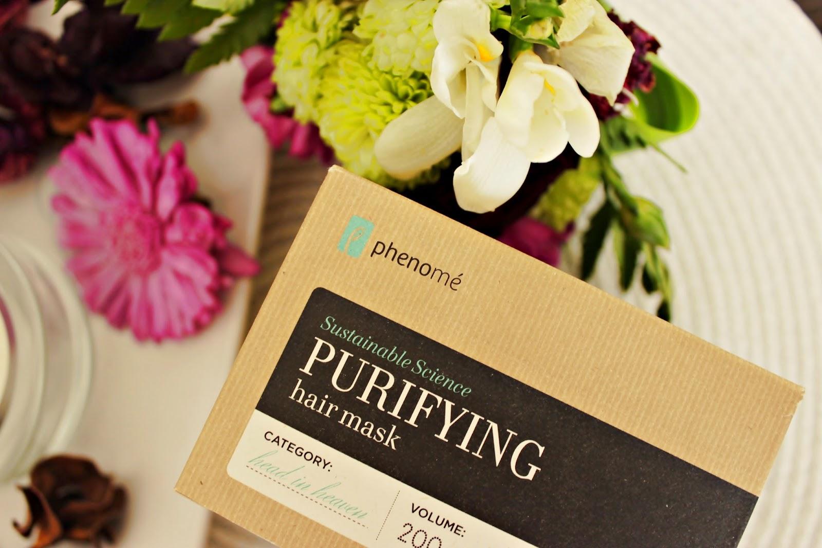 Phenome, maska oczyszczająca, Puryfying Hair Mask, pielegnacja włosów