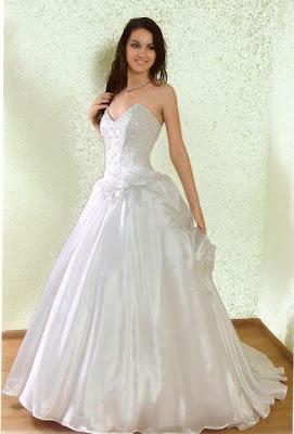 Vestido de noiva, rodado tradicional