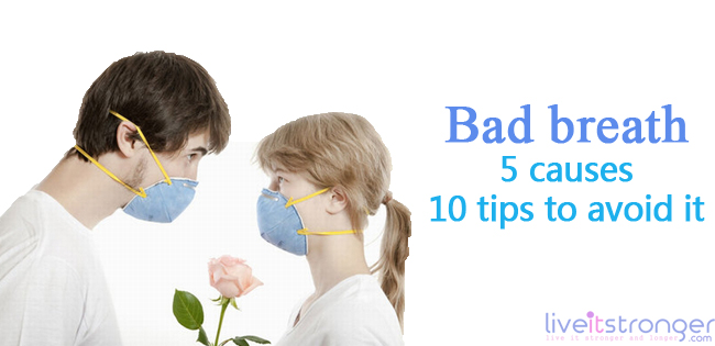 halitosis, bad odor from mouth