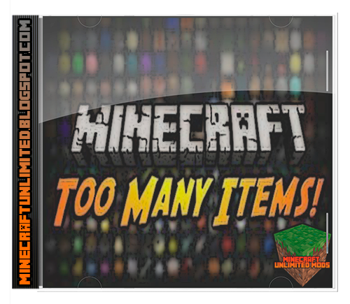 Too Many Items Mod minecraft