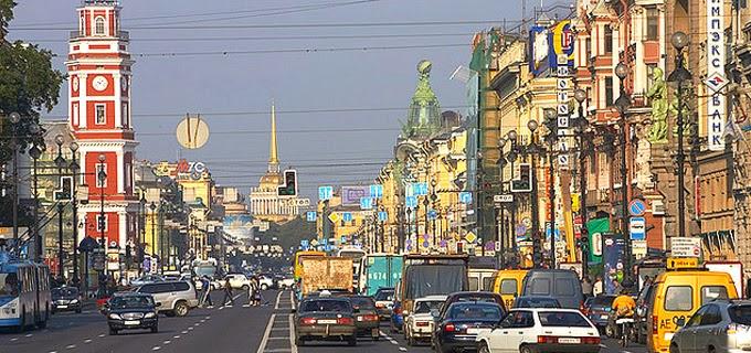 Avenida Nevsky de San Petersburgo