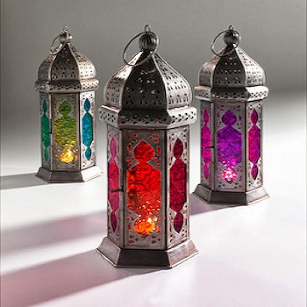 Eloquent hijabi september 2013 Home decor lanterns
