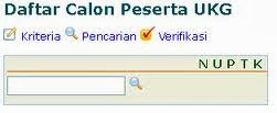 Data Calon Peserta UKG