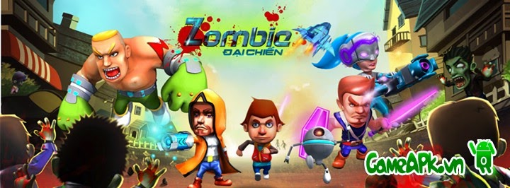 Tải game Zombie Đại Chiến cho Android
