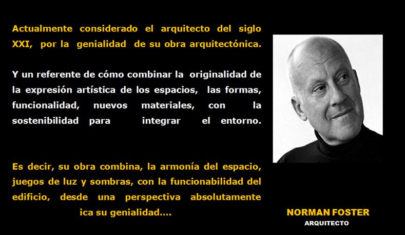 Revista digital apuntes de arquitectura norman foster el for Arquitectos y sus obras