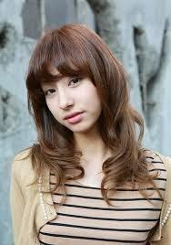 Model Rambut Wanita Sebahu Ala Korea 30