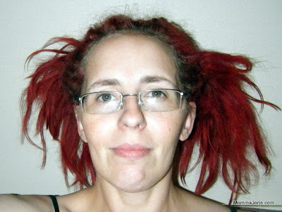 Dreadlock ponytails