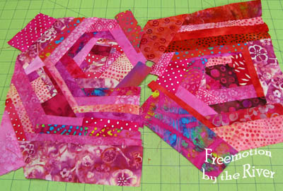 Creating fabric from scraps
