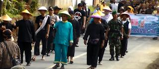 Wakil Bupati Banjarnegara Hadi Supeno pada Kirab Parak Iwak 2015