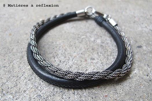 Bracelet deux tours en laiton de Orner
