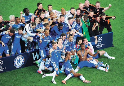 Chelsea Campeón de la Champions League 2011 - 2012