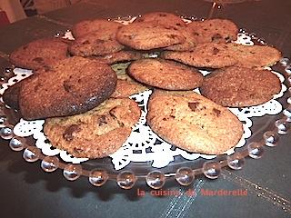 comment faire des cookies- recette facile-Marderelle