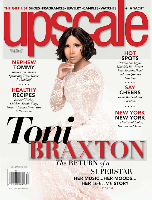 Actress, Singer, @ Toni Braxton - Upscale USA, December 2015