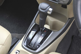 Honda City uses a conventional 5-speed auto