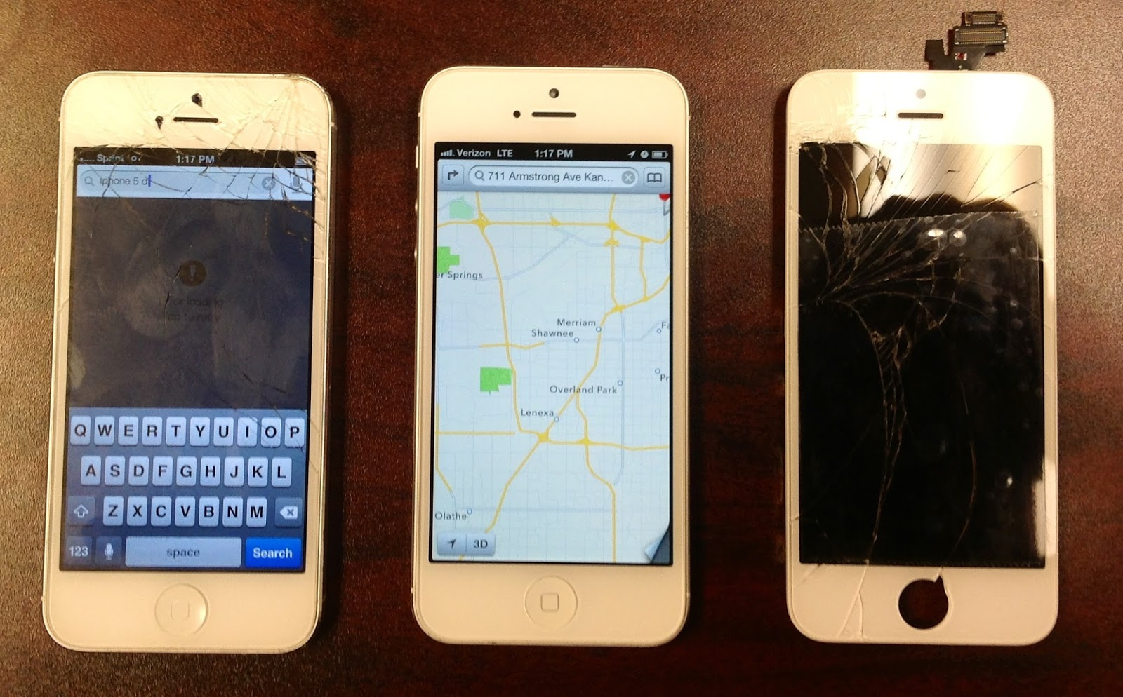 how to fix broken glass on iphone 5