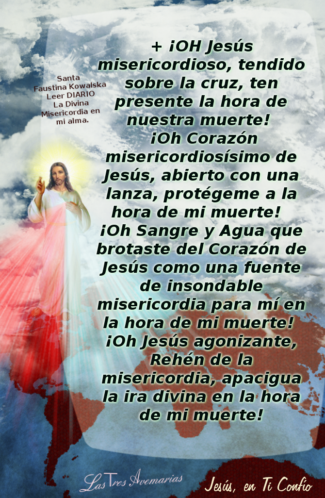 Divina Misericordia Oracion a la Divina Misericordia