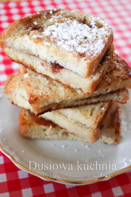 tosty francuskie, tosty francuskie na słodko, cynamonowe tosty francuskie