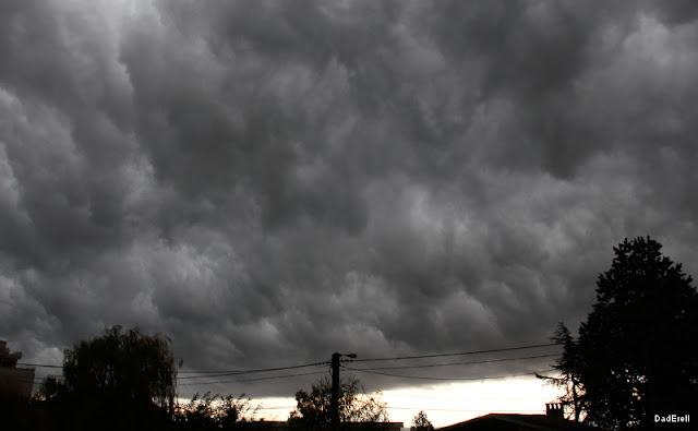 Nuages avant un orage