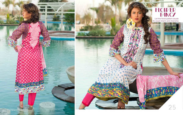Five Star Divine lawn spring summer Collection 2013 for Girls And Women