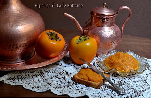 hiperica_lady_boheme_blog_di_cucina_ricette_gustose_facili_veloci_dolci_marmellata_di_cachi