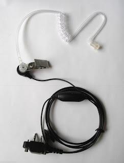 Earpiece Headset for Icom F4021S F4021T F3021S F3021T F4001 F3001IC-V80E IC-V8