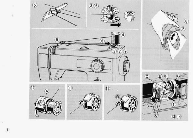 elna sewing machine repair manual