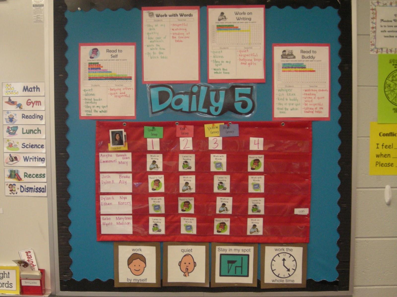 Classroom Rotation Ideas : Literacy center rotation chart car interior design
