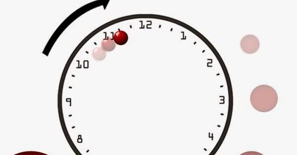 Reloj de pared bola relojes de pared - Relojes para decorar paredes ...