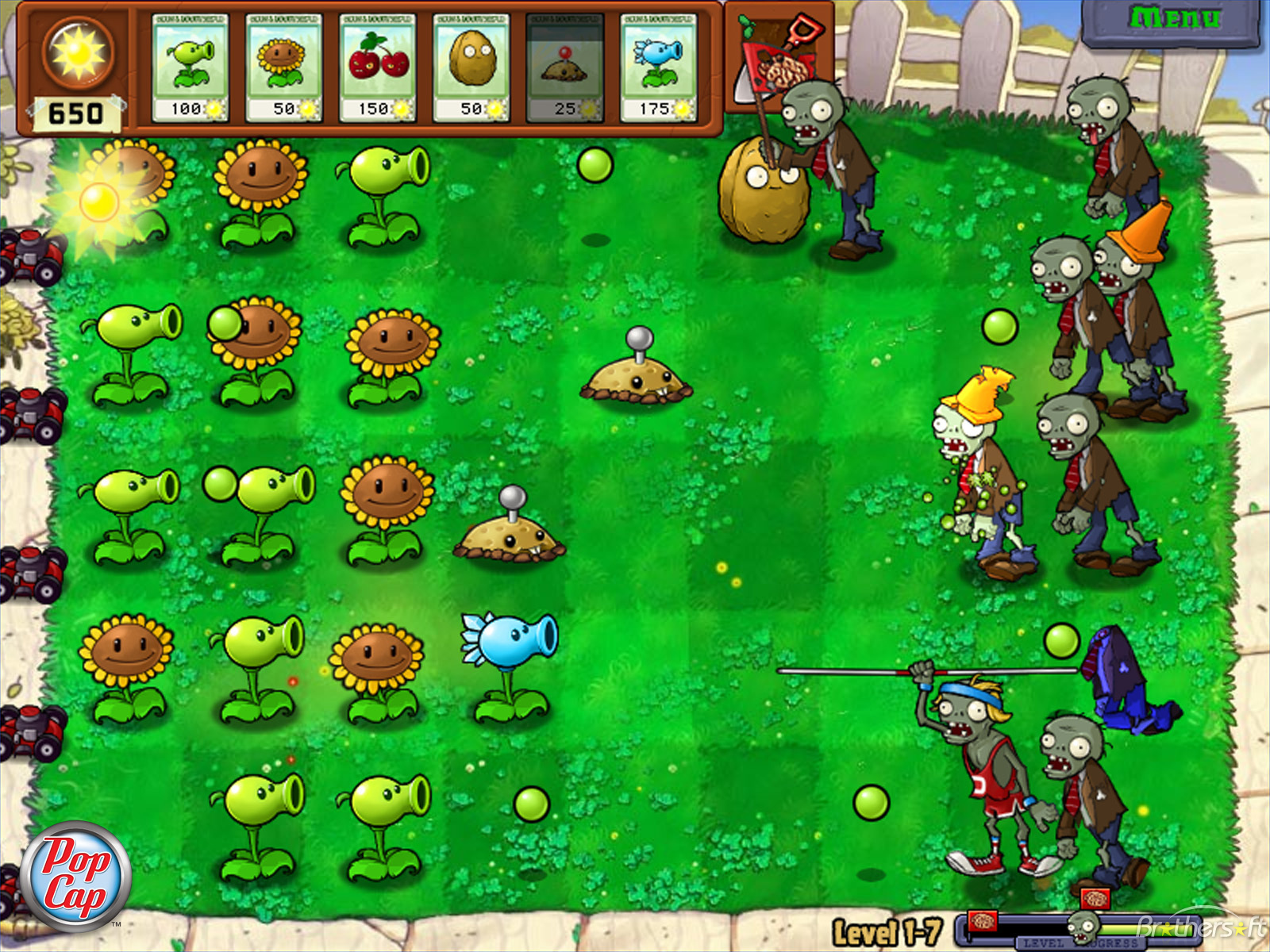wallpaper: Plants Vs Zombies Hd Wallpaper