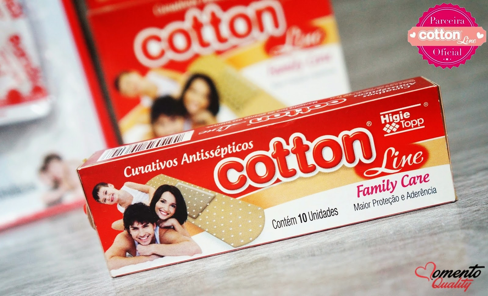 Curativos Antisépticos Cotton Line