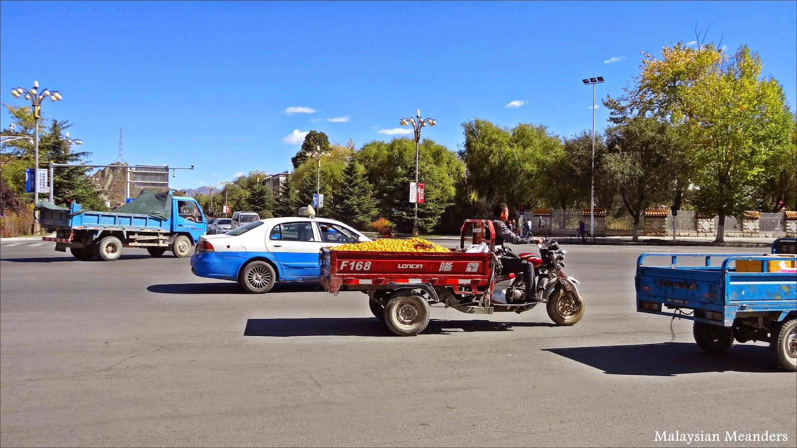 Tibet transportation, Lhasa