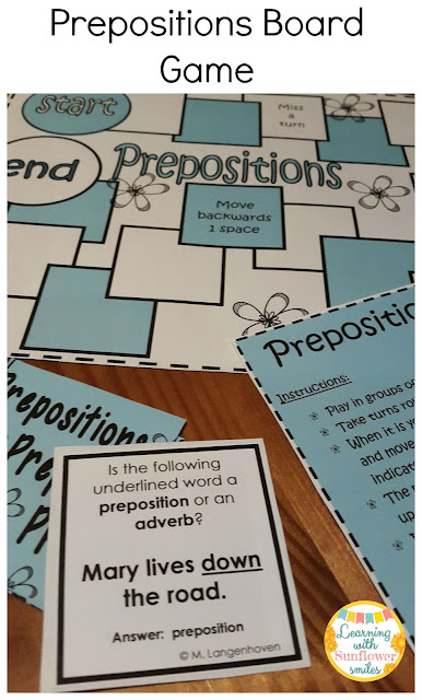 https://www.teacherspayteachers.com/Product/Prepositions-board-game-1092642