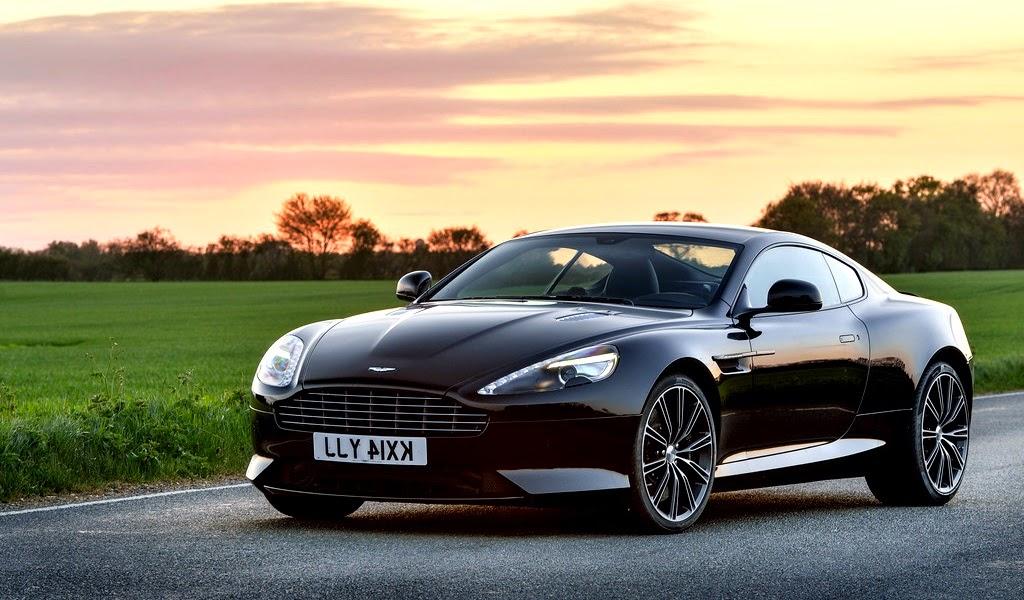 2015 Aston Martin DB9 Carbon Black Edition Front Wallpaper