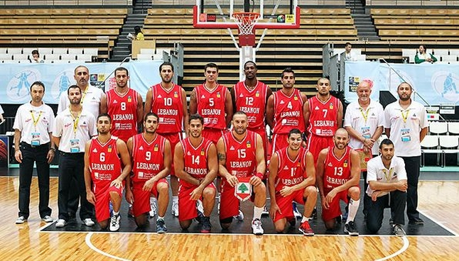 FIBA Asia Lebanese basketball team