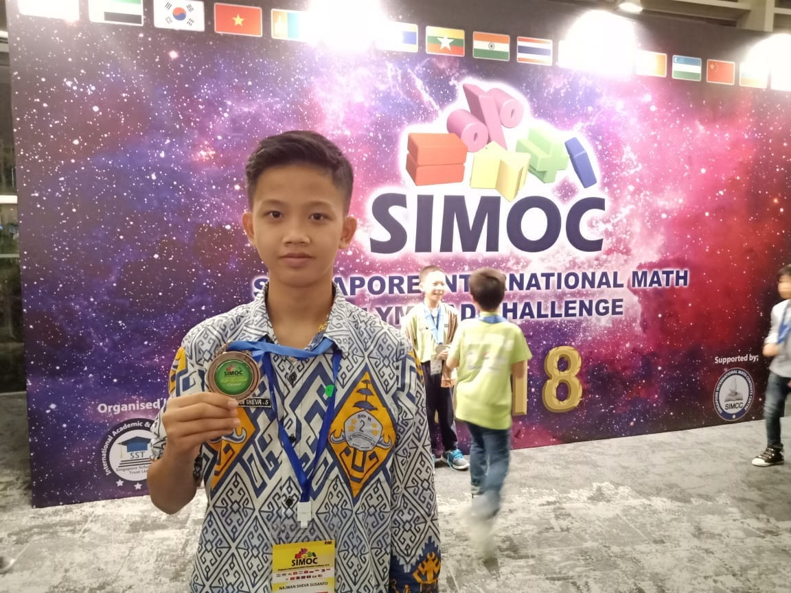 Peraih Bronze Medal SIMOC 2018