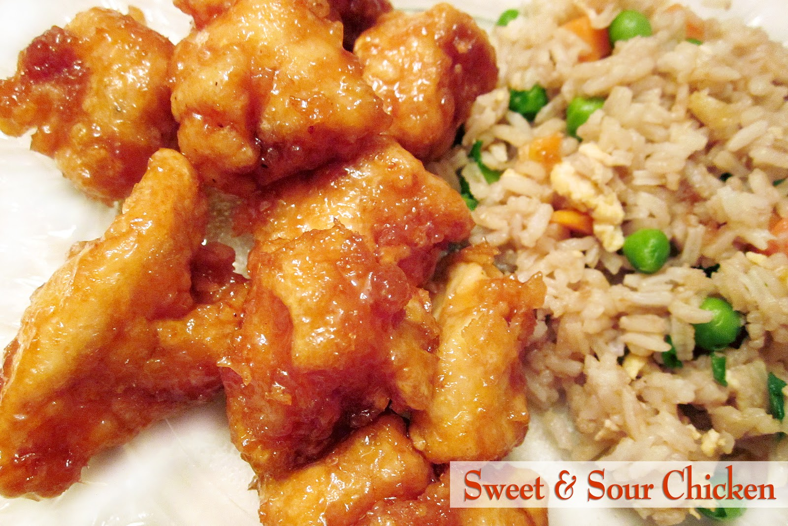 Diddles and Dumplings: Sweet & Sour Chicken