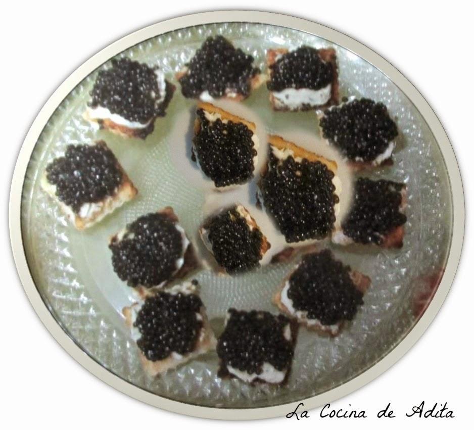 Canap s de caviar for Canape de caviar
