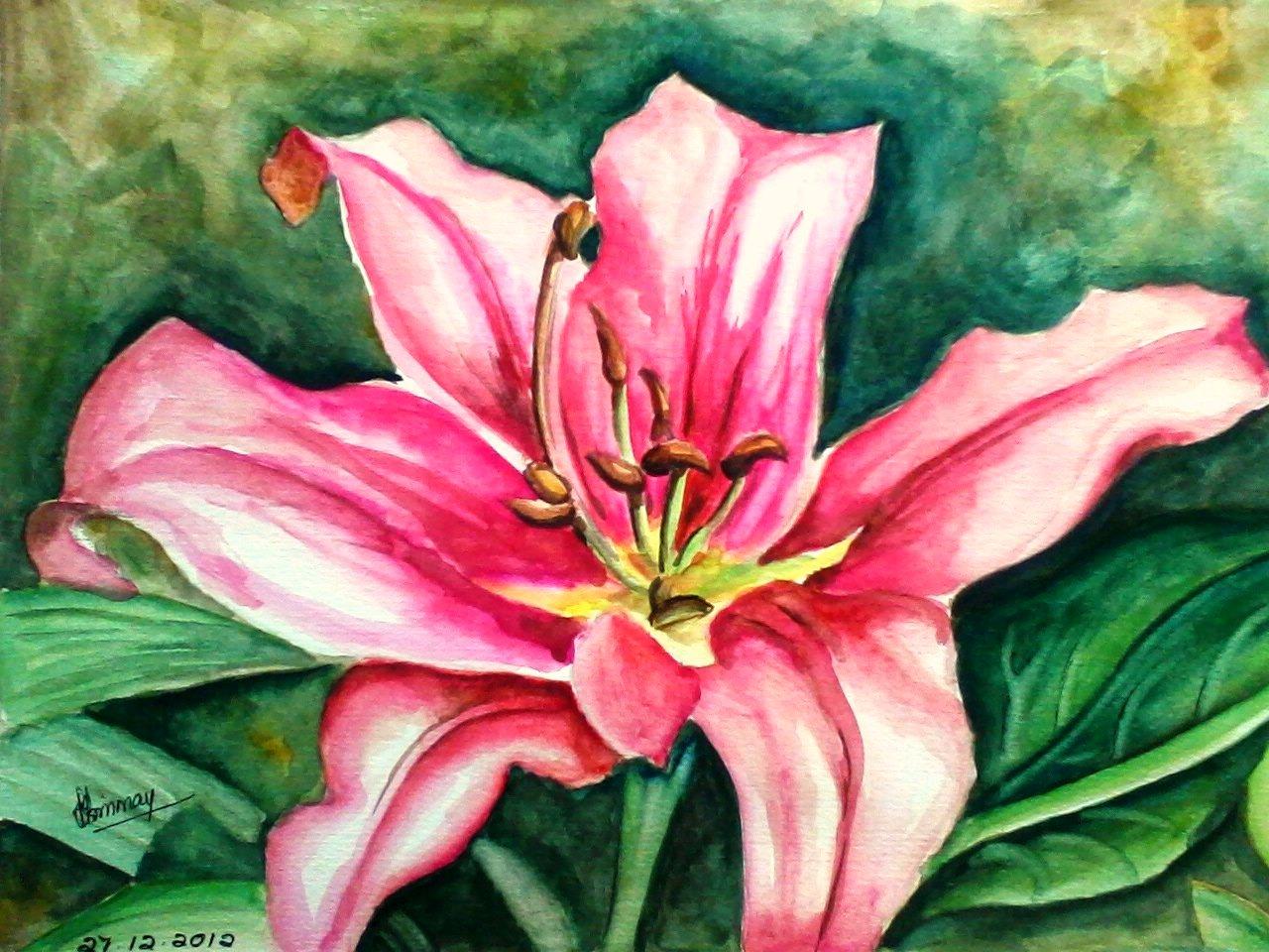 Flower Painting Faywards Paintings