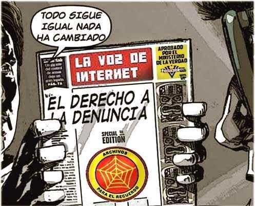 Viñeta cómic sobre periodismo y denuncia