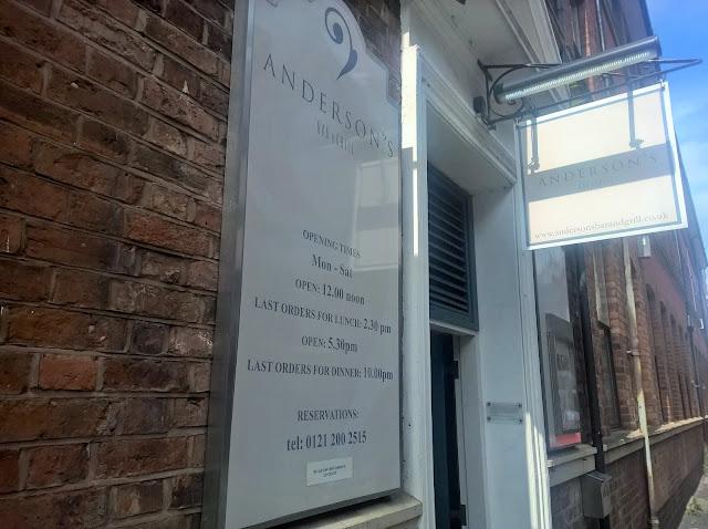 Anderson's Birmingham
