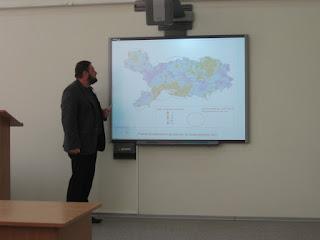 Використання геоінформаційних систем та дистанційного зондування землі. Фото №9 з конференції.