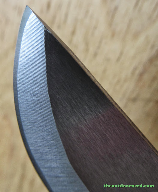 Hultafors Craftmans Knife Heavy-Duty GK: Another Closeup Of Blade Tip
