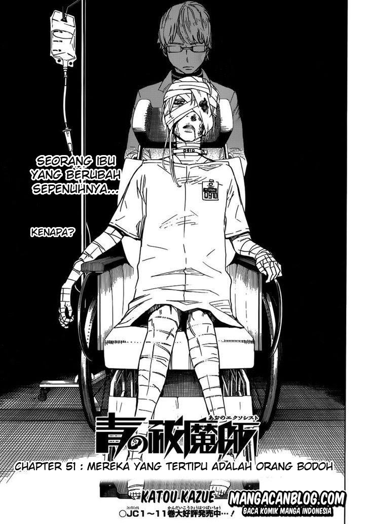 Dilarang COPAS - situs resmi www.mangacanblog.com - Komik ao no exorcist 051 - mereka yang tertipu adalah orang bodoh 52 Indonesia ao no exorcist 051 - mereka yang tertipu adalah orang bodoh Terbaru |Baca Manga Komik Indonesia|Mangacan